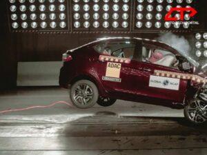Tata Tigor scores 4 stars in Global NCAP crash tests