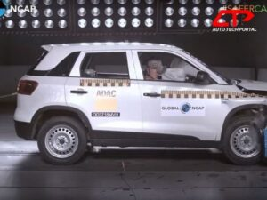 vitara brezza is a decently safe car