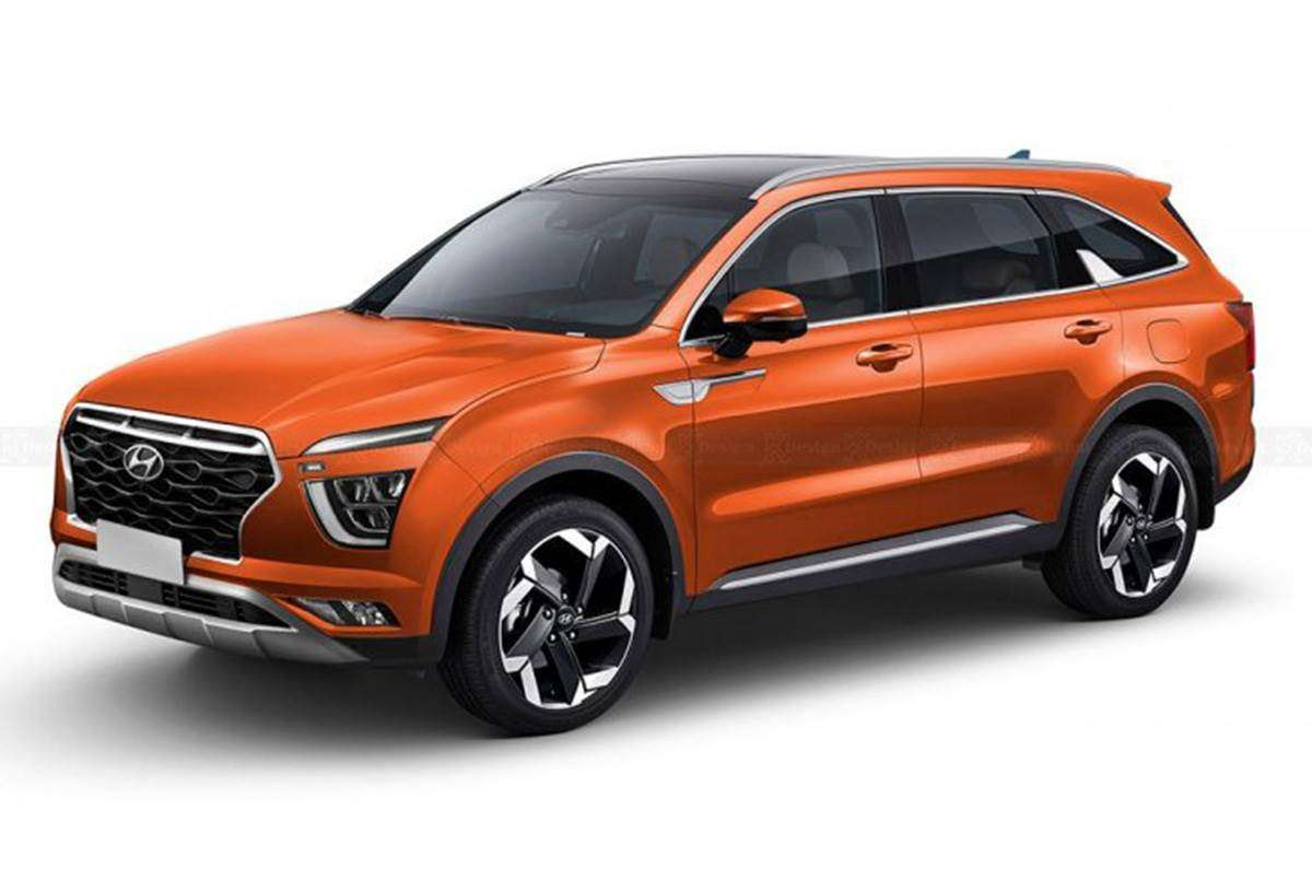 Hyundai Alcazar debut day out – to be revealed on 6 april, 2021